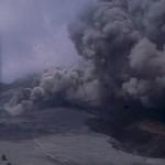 Pyroclastic flow in Truitt's Ghaut.