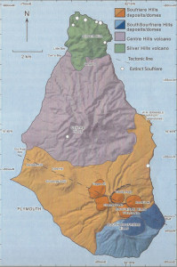 Montserrat Geological Map